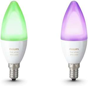 Lot de 2 Ampoules Connectées Philips Hue White and Color - E14