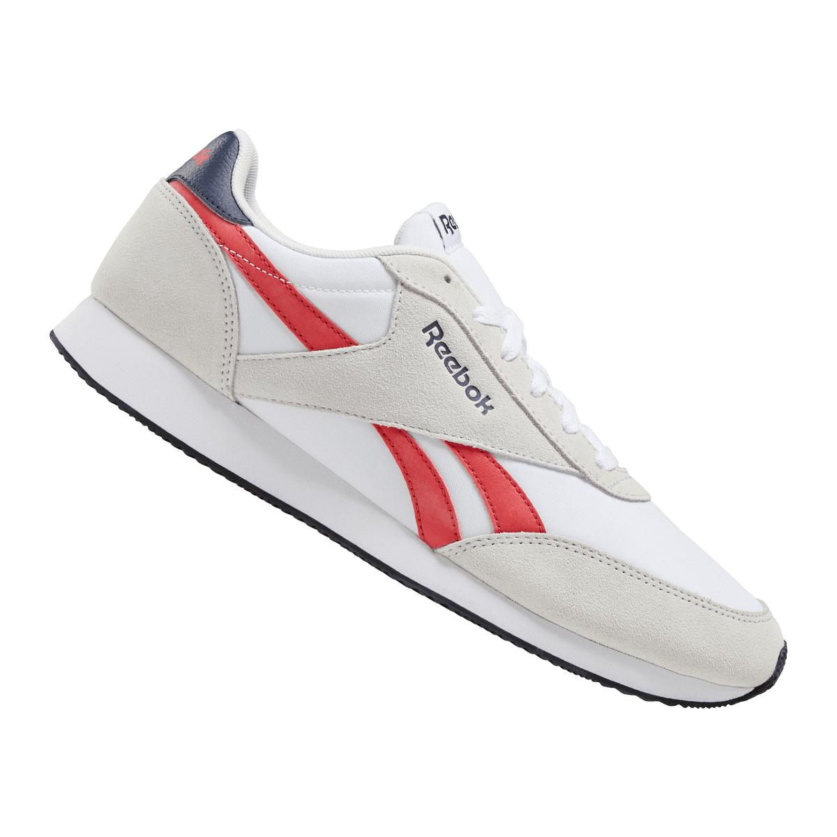 Sélection de chaussures en promotion - Ex : Chaussure Reebok Royal CL Jogger II blanc / rouge