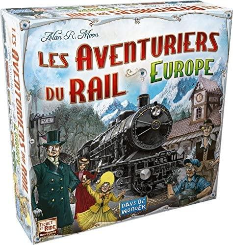 Jeu de Société Asmodée Les Aventuriers du Rail Europe