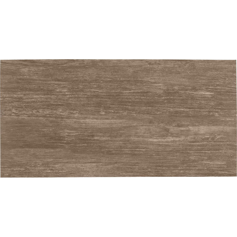 Carrelage wenge effet bois Chalet (l.30 x L.60 cm), le m²