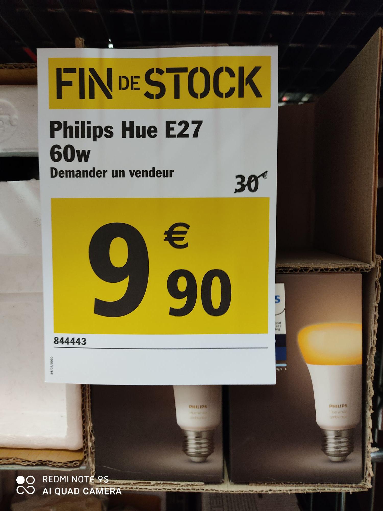 Ampoule LED Connectée Philips Hue White Ambiance E27 - Reims (51)