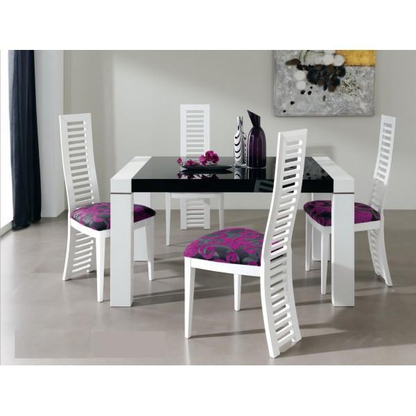 Table à manger extensible Ruiz y Sanchez Mikonos (140-230 cm) - Blanc