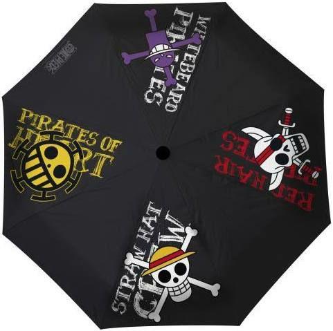 Parapluie One Piece - Emblèmes Pirates