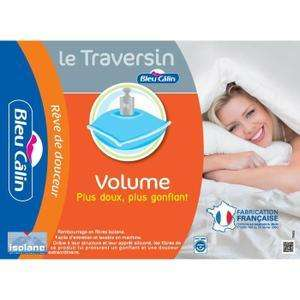Traversin  Bleu Calin Volume 160cm