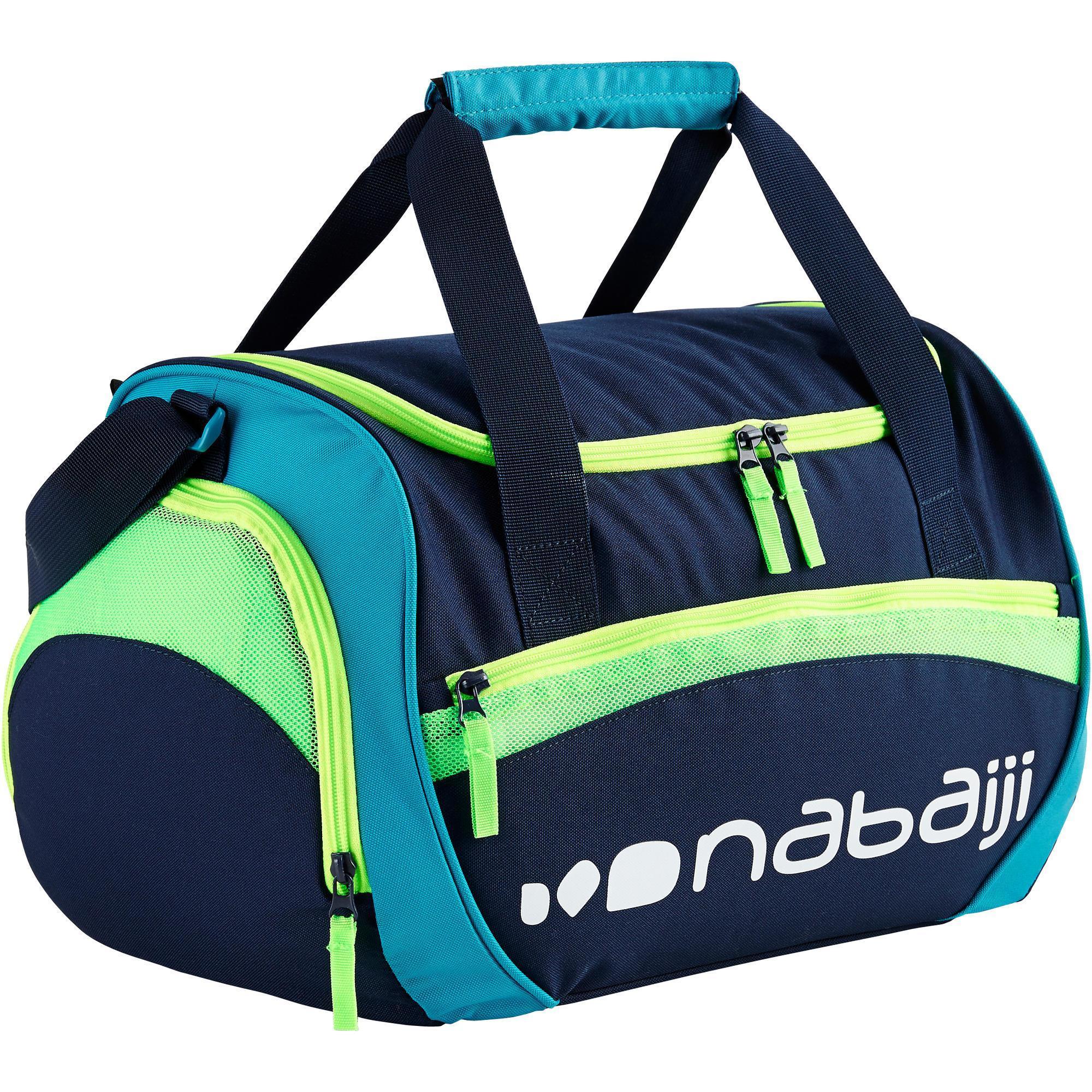 Sac de Natation Nabaiji 500 - 30L, Bleu vert