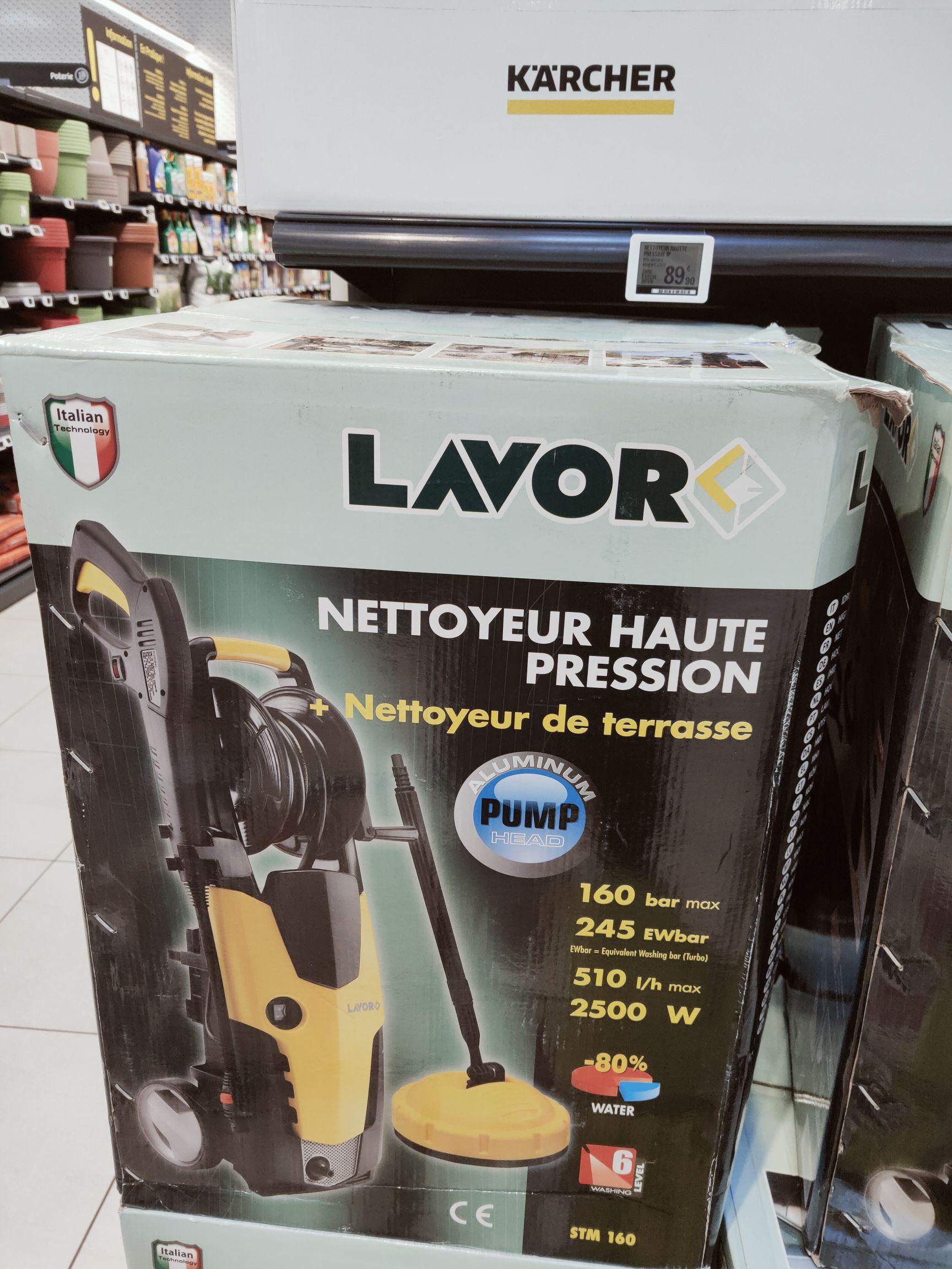 Nettoyeur haute pression Lavor STM 160 WPS - 2500W, 160 bar - Orvault (44)