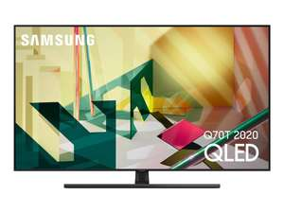 "TV 55"" Samsung QE55Q70T (2020) - QLED, 4K UHD, Dalle 100 Hz, HDR 1000, Smart TV (Via ODR de 300€)"
