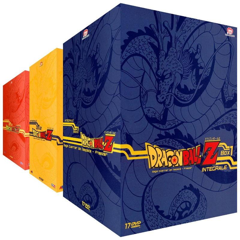 Lot de 3 coffrets DVD Dragon Ball Z - L'intégrale de l'animé