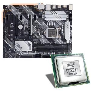 Pack Processeur Intel Core i7-10700K + Carte mère Asus Prime Z490-P + Jeux offerts