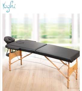 Table de massage pliante Yoghi - Noir ou blanc