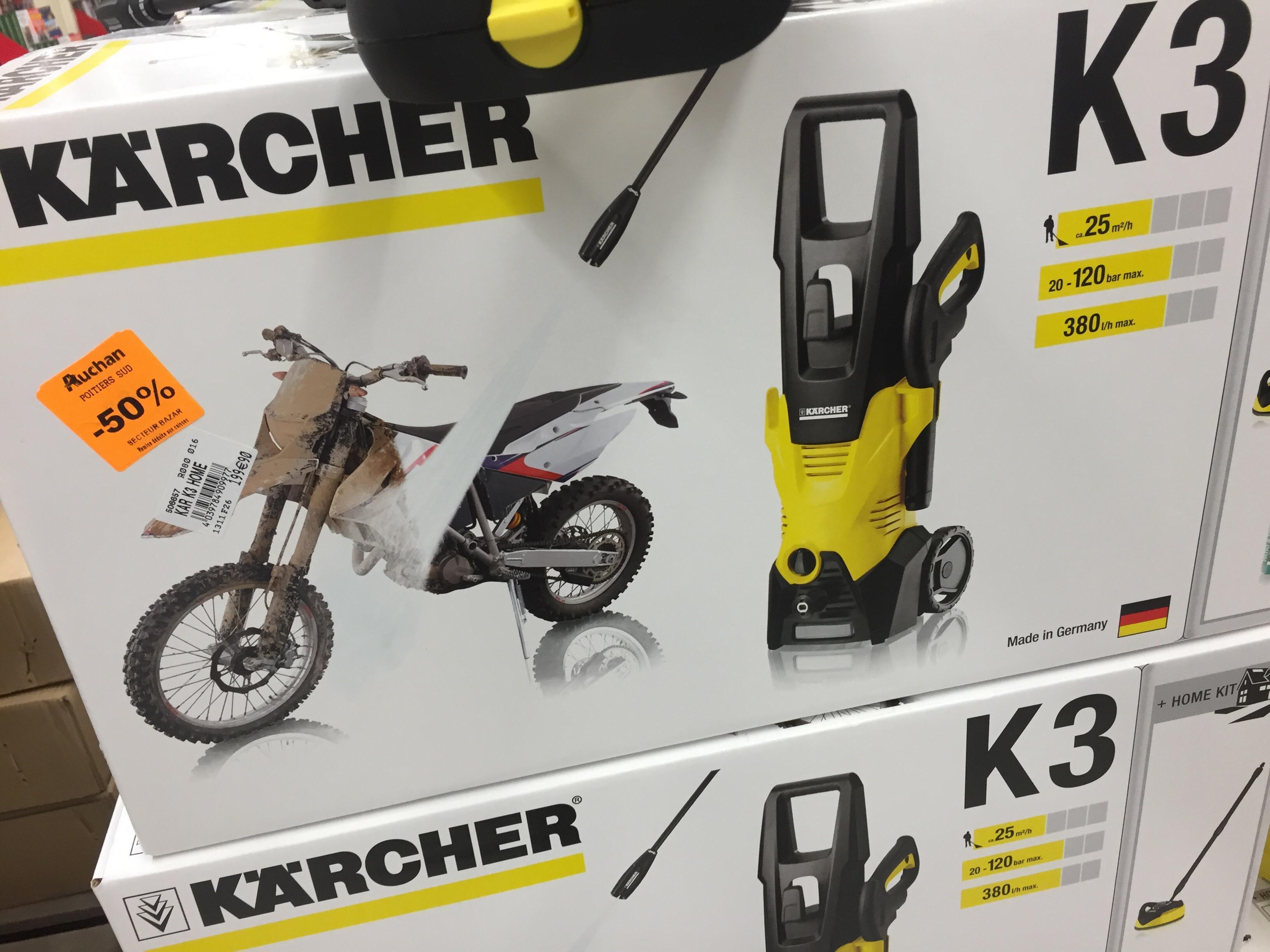 Nettoyeur haute pression Karcher K3 Home T350