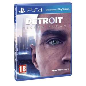 Detroit Become Human sur PS4