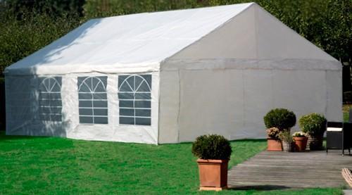Tente de reception 5 x 10 m GardenFactory 50m²