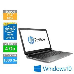 "PC Portable 17.3"" HP Pavilion Notebook 17-g102nf (i3-5020U, RAM 4 Go, HDD 1 To, Intel HD 5500, Ecran HD+ 1600x900)"