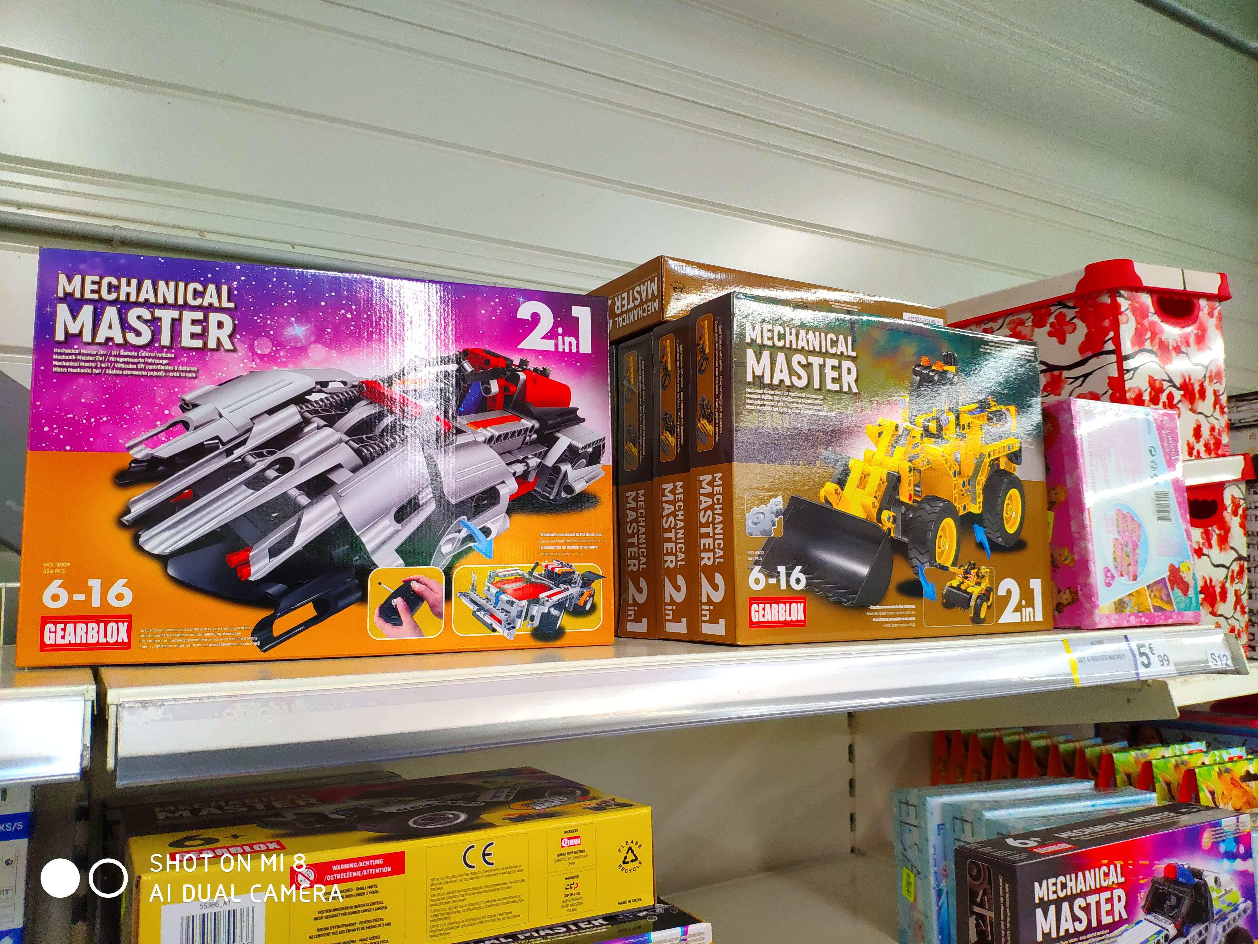 Sélection de jouets Mechanical Master - Ancenis (44)