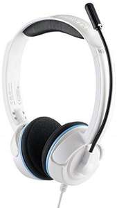 Casque filaire gaming Turtle Beach Ear Force NLa (Wii U/3ds/3ds Xl/Pc/Mac) Blanc