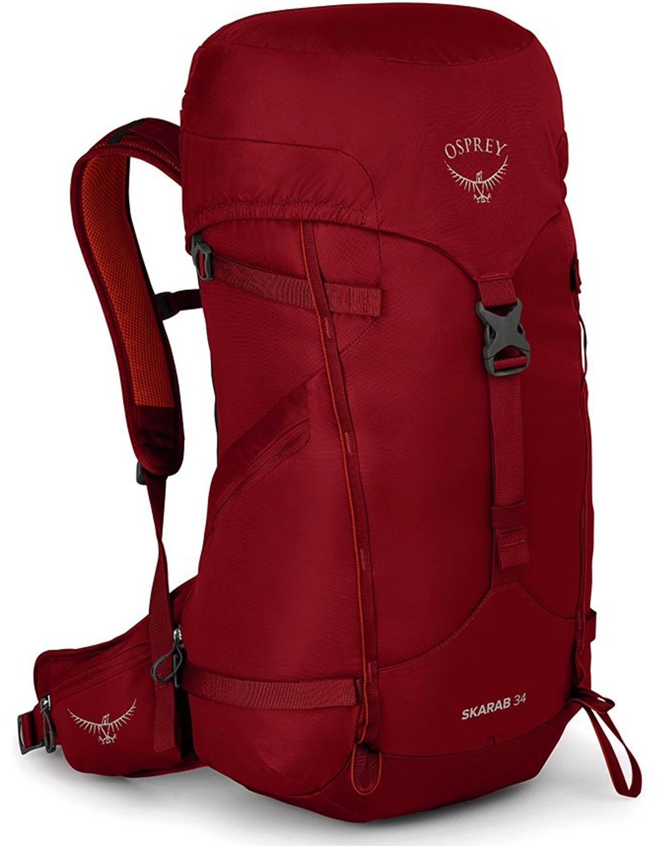 Sac de randonnée Osprey Skarab 34 - Mystic Red