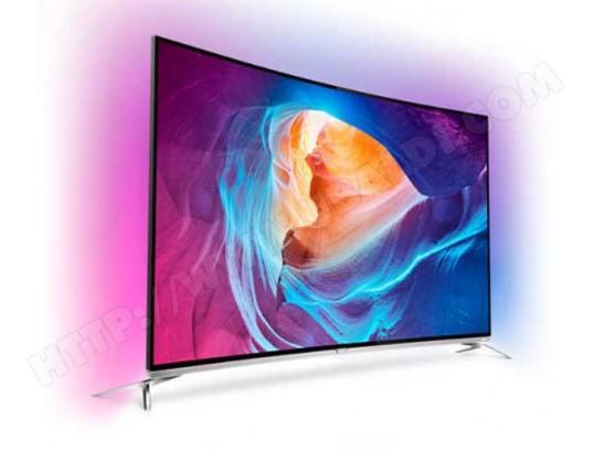 """TV 55"""" Philips 55PUS8700/12 - Incurvée, LED, 4K, 3D"""