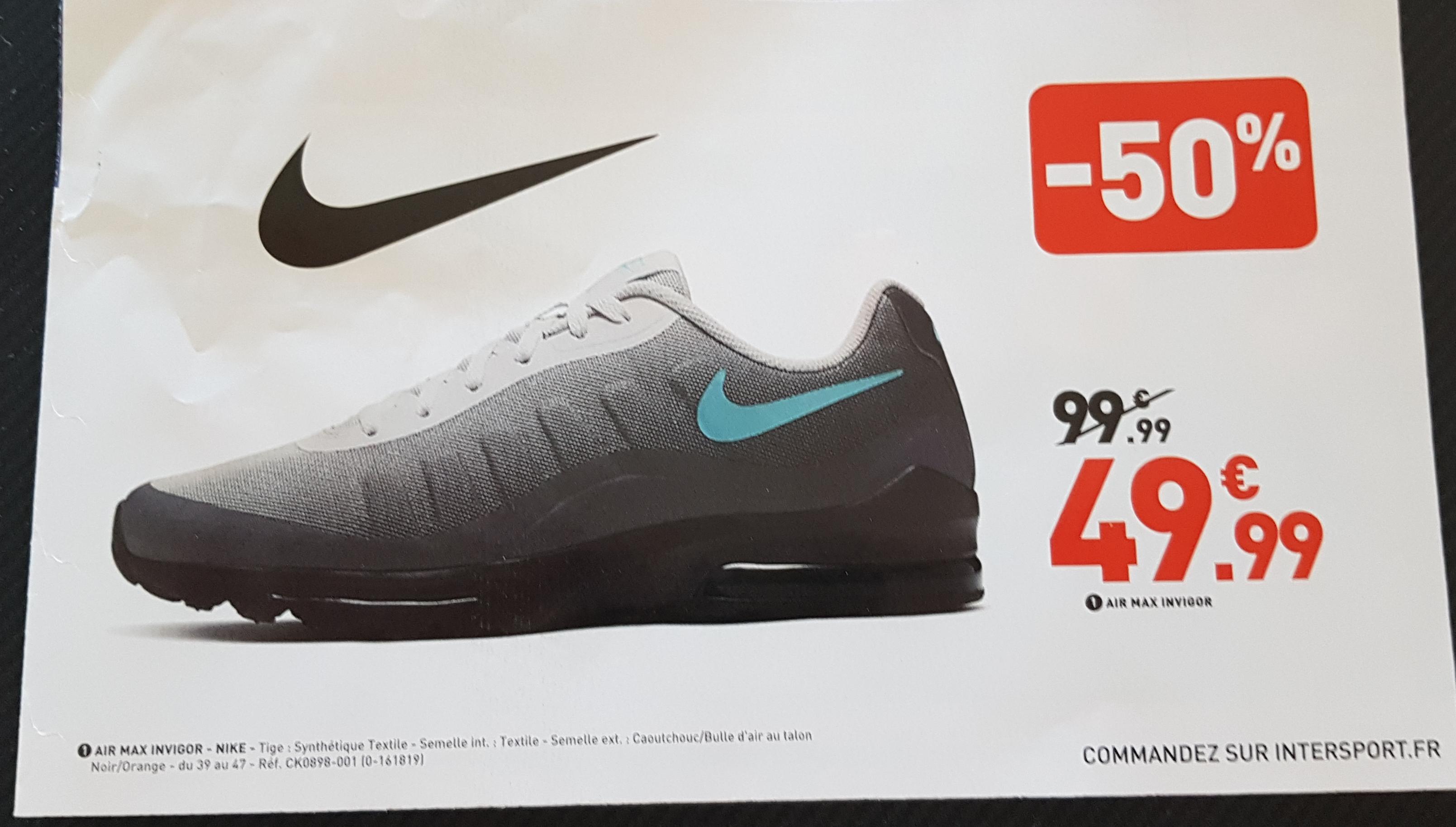 Chaussures Nike Air Max Invigor pour Hommes - Gris foncé/Sarcelle nébuleuse-Gris vaste-Gris huilé, Diverses tailles