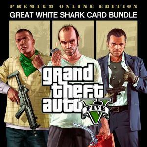 Grand Theft Auto V (GTA 5) Édition Premium Online + Paquet Great White Shark sur PS4 (Dématérialisé)