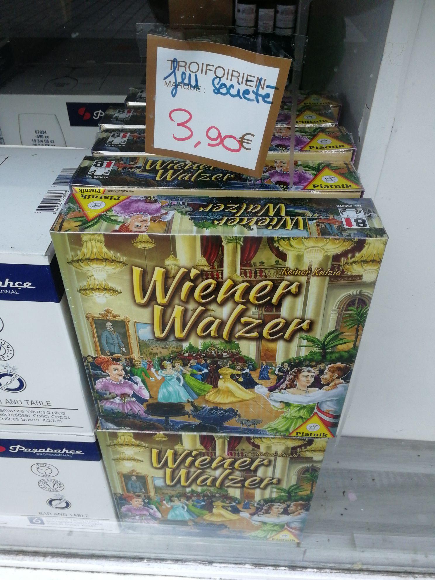 Jeu de société Wiener Walzer - Troifoirien Paris (75)