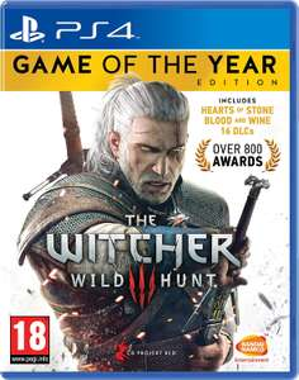 The Witcher 3: Wild Hunt - Édition GOTY sur PS4 ou Xbox One (en Anglais)