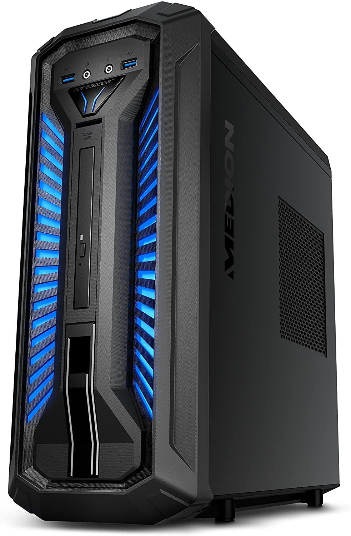Ordinateur fixe Medion X30 RGB - Intel Core i5-8400, 16GB RAM, SSD M.2 256Go + 1To HDD , Nvidia GTX1060-3GB, Windows 10