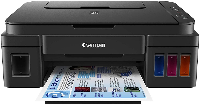 Imprimante Jet d'encre Canon Pixma G3501 - Noire