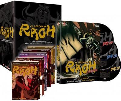 Coffret DVD + 5 Mangas : La légende de Raoh - Série TV - Intégrale - Edition Collector