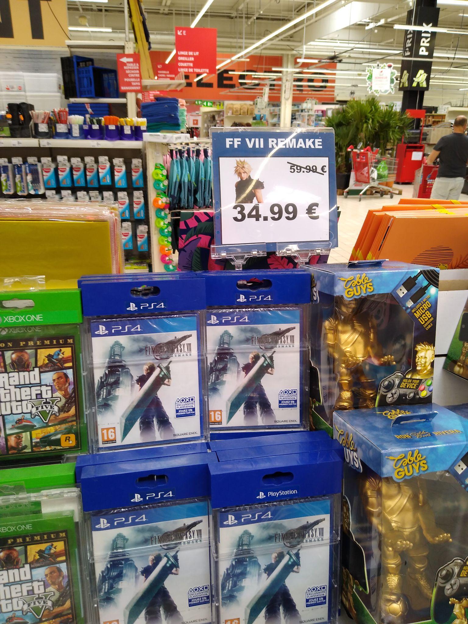 Final Fantasy VII Remake sur PS4 - Epagny (74)