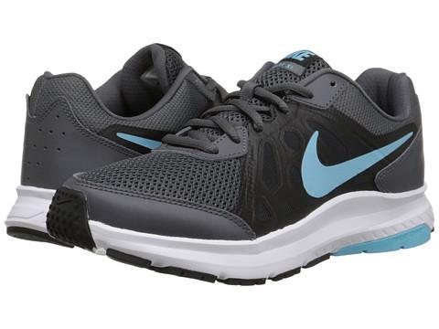 Baskets femme Nike Dart 11 Noir grise et bleu ciel