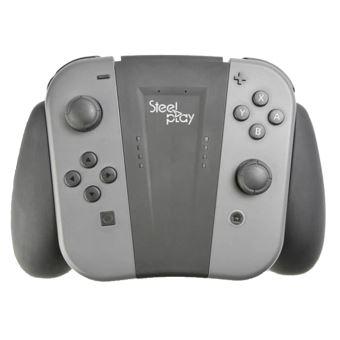 Support de recharge Steelplay Noir pour Joycon Switch