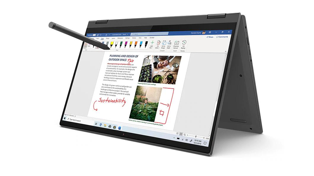 "[Etudiants] PC Portable Hybride Tactile 14"" Lenovo Ideapad Flex 5 - FHD IPS, Ryzen 7 4700, RAM 8Go, SSD 512Go"