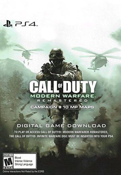 Call of Duty: Modern Warfare Remastered sur PS4 (Dématérialisé - EU)