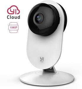 Caméra de Surveillance Yi Intérieure Grand Angle YI Home avec Vision Nocturne & Détection de Mouvements - Full HD, µSD, WiFi