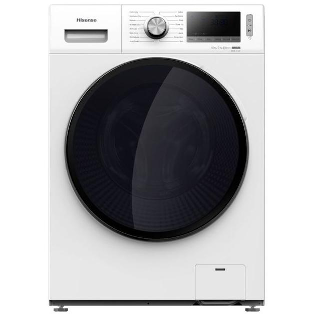 Lave-linge séchant Hisense WDBL1014V - 10 + 7 kg, 1400 trs/min (+74.85€ en SuperPoints) - Via ODR de 50€ (Vendeur Boulanger)