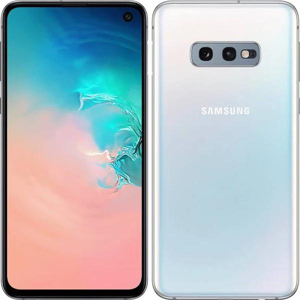 """Smartphone 5.8"""" Samsung Galaxy S10e - Full HD+, Exynos 9820, 6 Go de RAM, 128 Go - Blanc"""