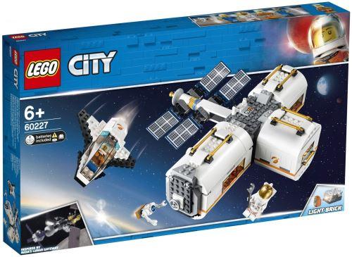 20% de réduction immédiate sur les jeux de constructions Lego City et Friends - Ex: : LEGO City - La station spatiale lunaire (60227)
