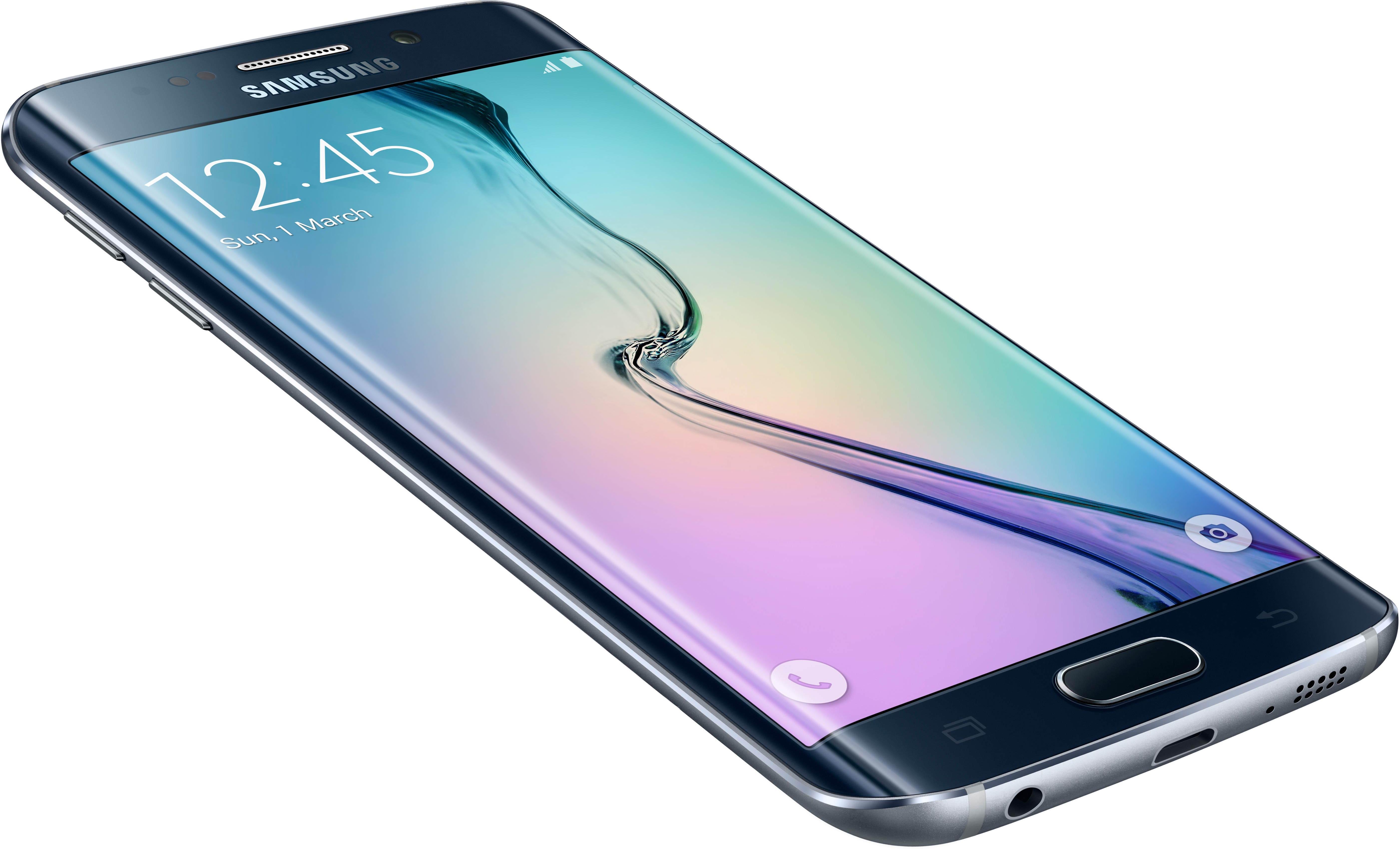 "Smartphone 5.1"" Samsung Galaxy S6 Edge - 32 Go, noir"