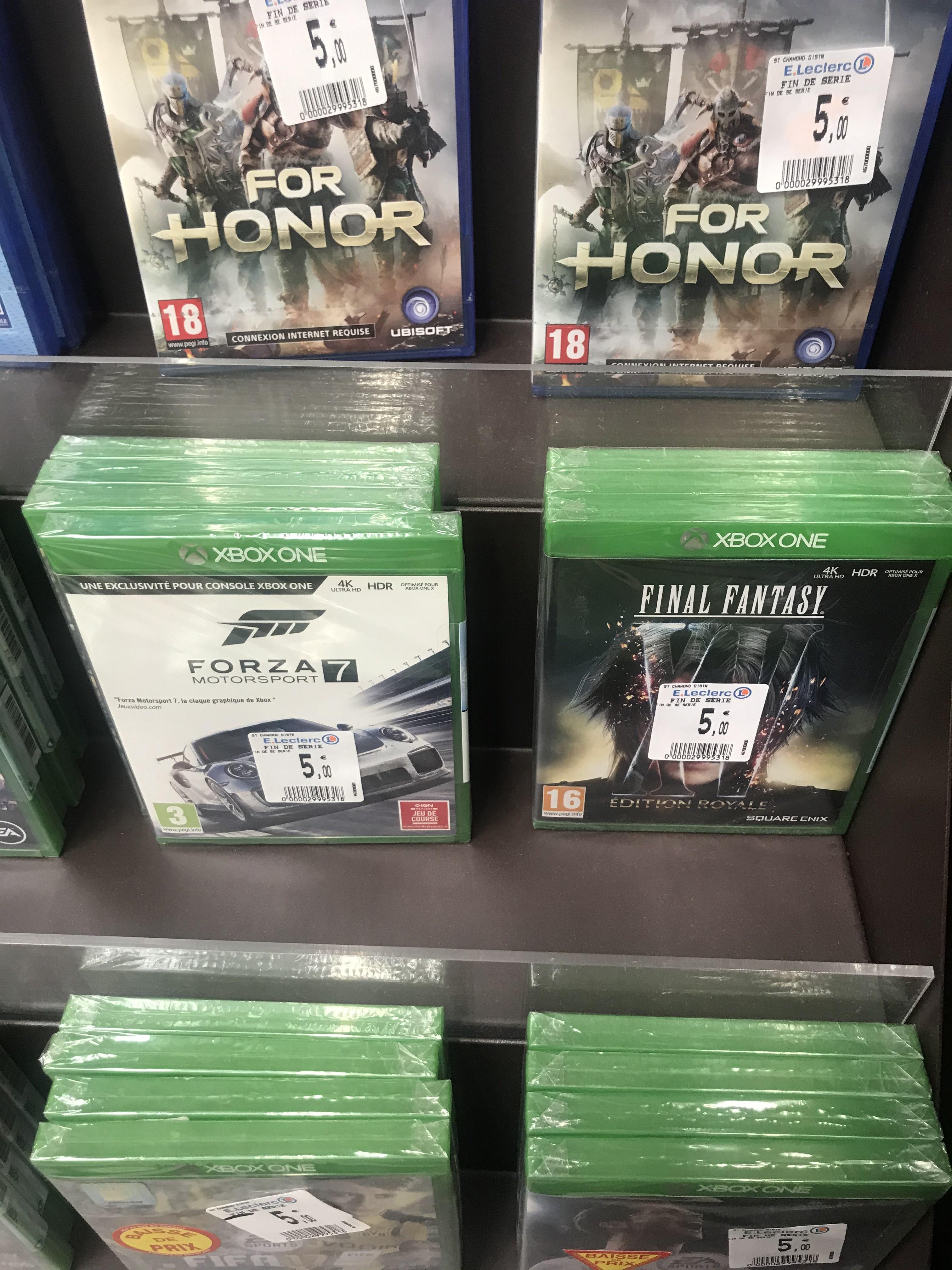 Sélection de jeux Xbox One en promotion - Ex : Forza Motorsport 7 (Saint Chamond 42)