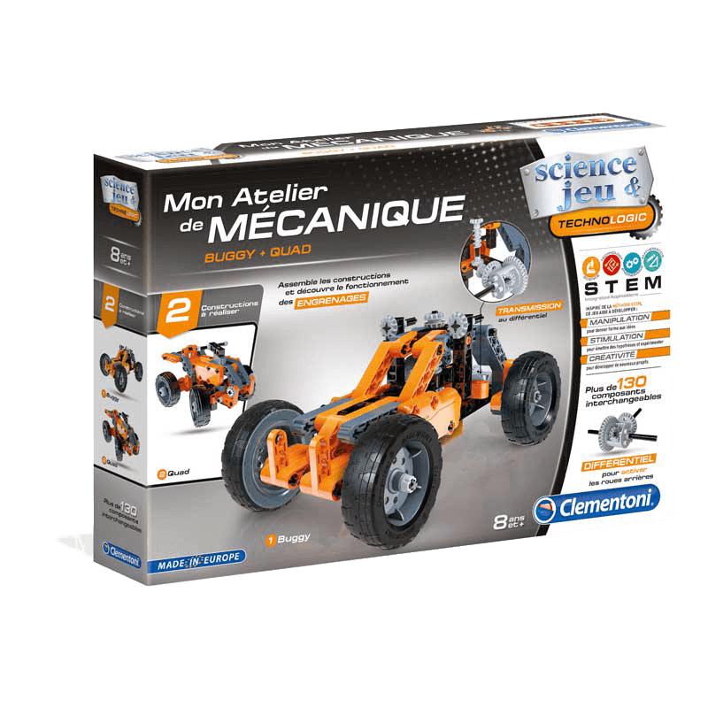 Sélection de jeux et jouets en promotion - Ex : Atelier Mécanique Buggy & Quad Clementoni