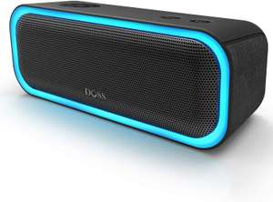 [Clients SFR et Red] Enceinte Bluetooth Doss Soundbox Pro - 20W, TWS, LED (Via 40€ de remboursement sur facture - sous conditions)