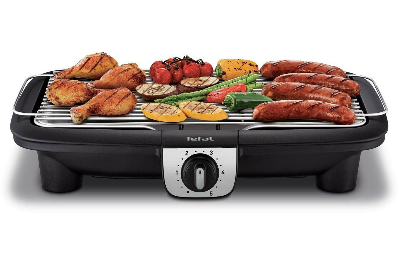 Barbecue électrique Tefal Easygrill XXL BG921812 - 2500 W sur pieds