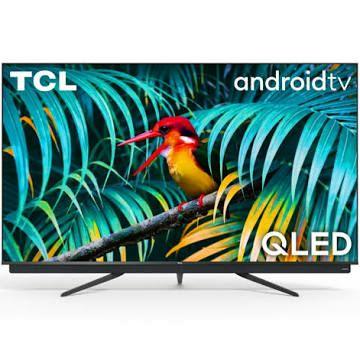 """TV 55"""" TCL 55C815 - QLED, 4K, HDR, Android TV, barre de son Onkyo (via ODR 300€)"""
