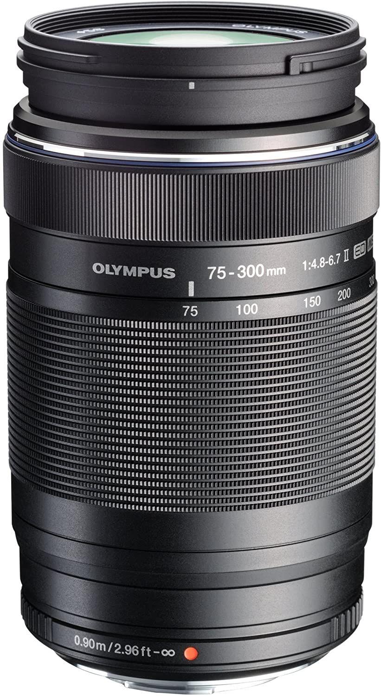 Objectif pour appareil photo Olympus M.Zuiko Digital ED - 75-300mm f/4.8-6.7 II