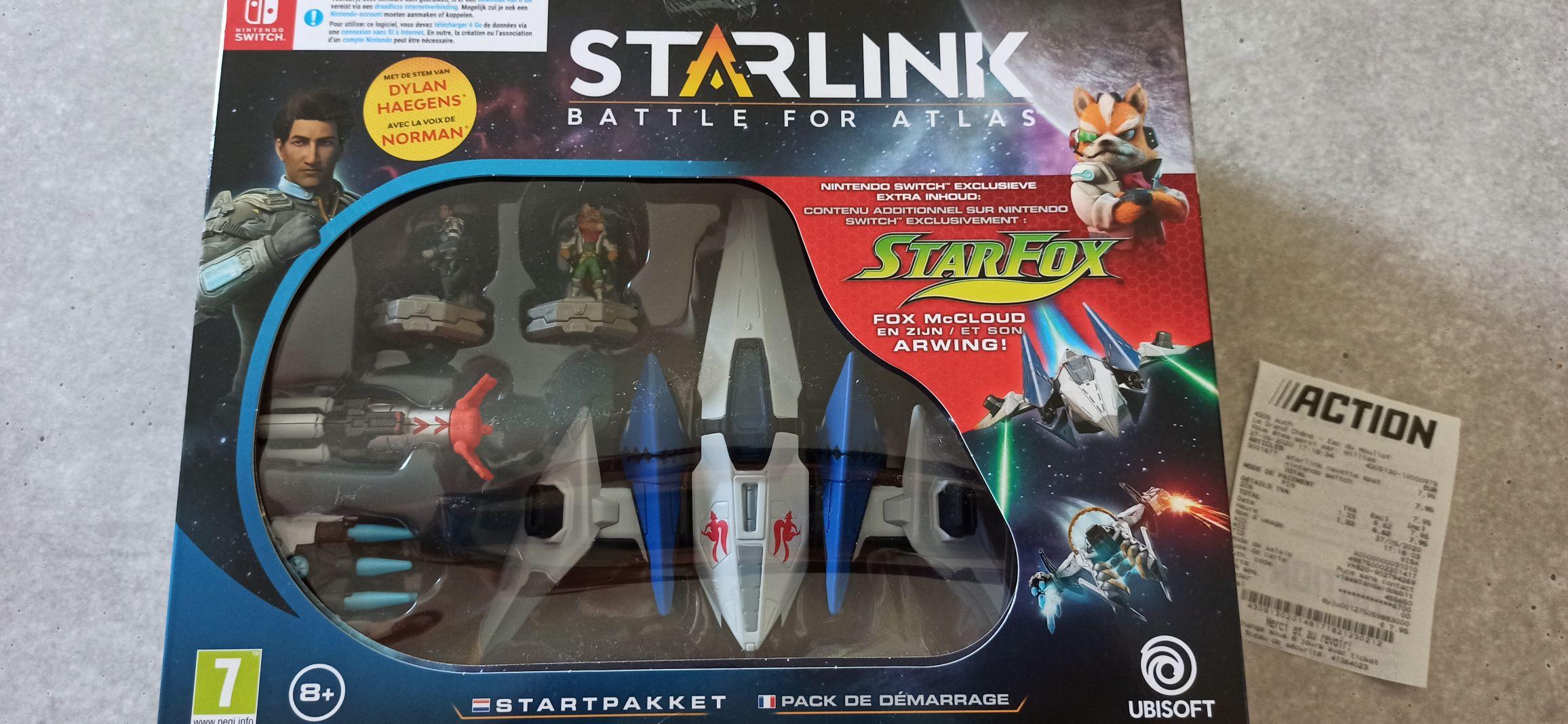 Pack de Démarrage Starlink pour Nintendo Switch - Auch (32)