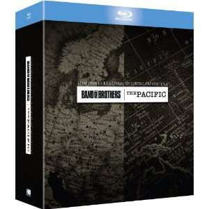 Coffret Band of Brothers & The Pacific (12 Bluray)