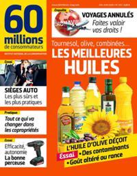 Abonnement au Magazine 60 Millions de Consommateurs en Version Numérique - 12 Mois