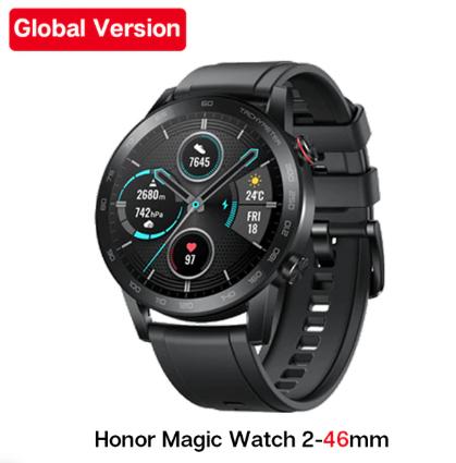 Montre connectée Honor Magic Watch 2 (Version Globale) - Noir, 46mm (Entrepôt France)