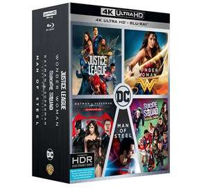 Sélection de Blu-ray, Blu-ray 4K et DVD en promotion - Ex : Coffret DC Comics 5 films Blu-ray 4K Ultra HD